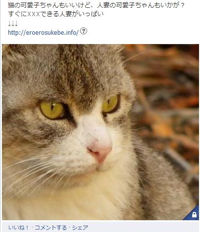 Facebookの写真投稿のシェアも危険